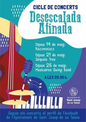 Cartel del evento 'Desescalada Afinada'.