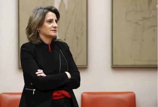 La vicepresidenta cuarta del Gobierno y ministra para la Transición Ecológica y el Reto Demográfico, Teresa Ribera - Pool
