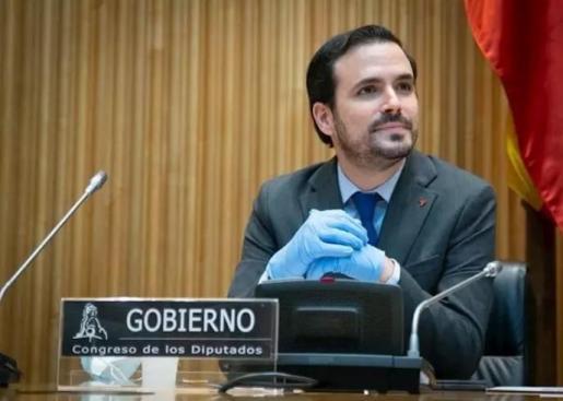 El ministro de Consumo, Alberto Garzón, en una imagen de archivo - CONGRESO