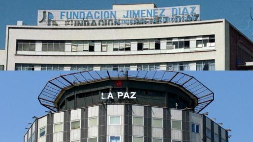 La Paz y la Fundación Jiménez Díaz son los hospitales más eficientes contra el Covid-19.