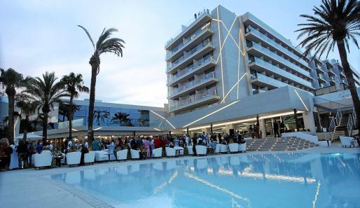 Imagen de un hotel de Ibiza.