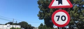 El Consell de Formentera ejecuta mejoras de seguridad viaria en el cruce de Porto-salè