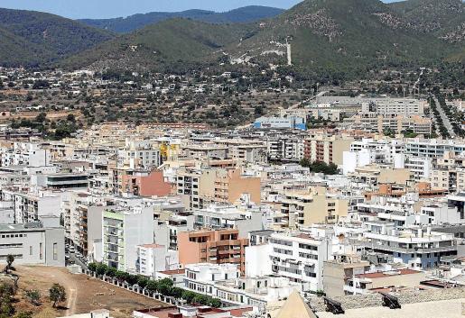 Vivienda en la ciudad de Ibiza.