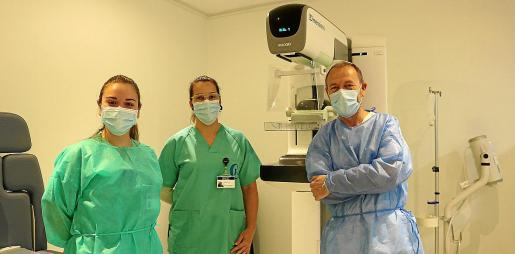 Equipo de la Unidad de Patología Mamaria del Grupo Policlínica.