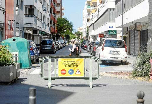 La calle Castilla es una de las que se cierra al tráfico por 'Eivissa Oberta'.