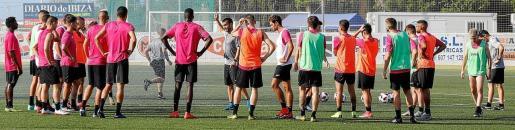 Imagen de un archivo de un entrenamiento de la Peña Deportiva