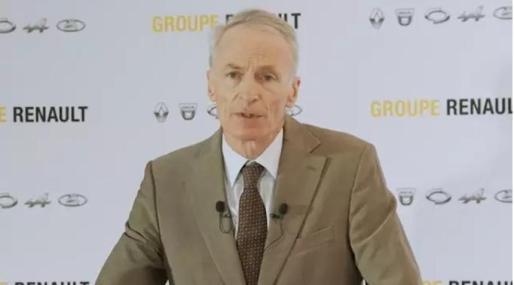 Imagen del presidente de Renault.