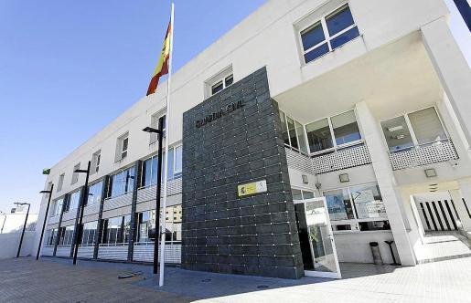 Imagen de archivo de la comandancia de la Guardia Civil en Ibiza.