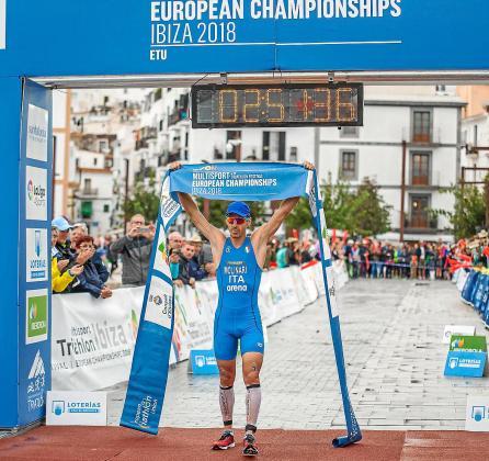 El italiano Molinari se lleva la victoria en la prueba reina del Campeonato de Europa Multideporte.