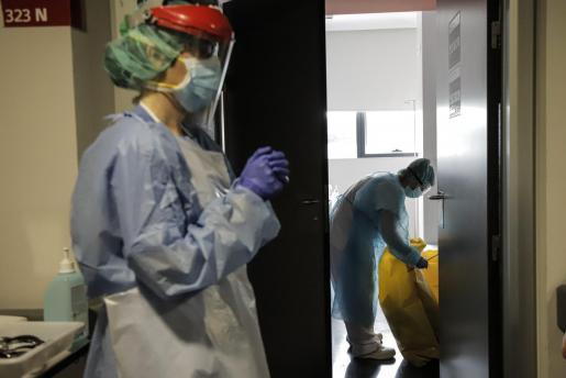 Imagen del interior del hospital Son Espases de Palma.