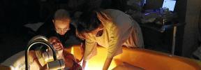 El uso del óxido nitroso y el parto en el agua se recuperan en el Paritorio