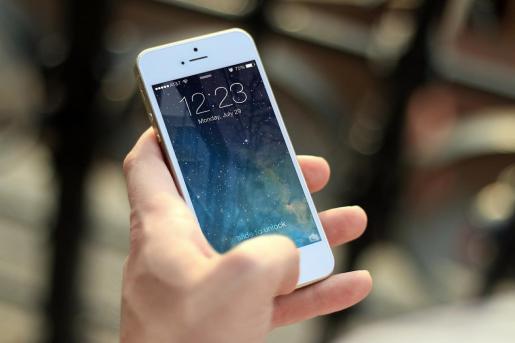 Imagen de un smartphone.