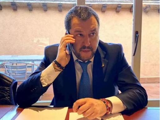 Matteo Salvini, líder de la Liga - MATTEO SALVINI FACEBOOK