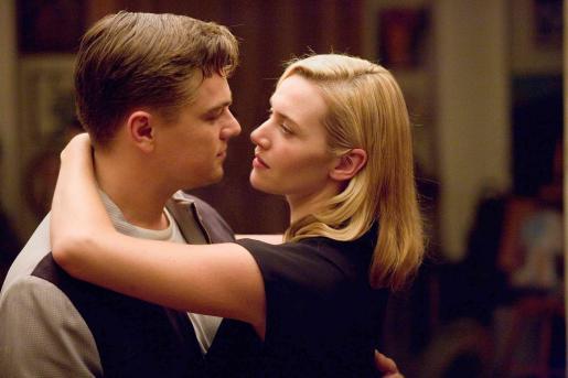 """Kate Winslet y Leonardo Di Caprio también coincidieron en la película """"Revolucionary road""""."""