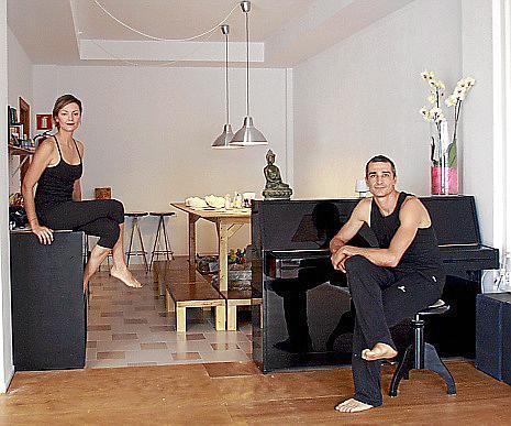 Tita Planells y Borja Tous en Studio 8.