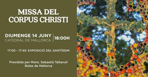 La Catedral de Mallorca acogerá un año más la solemne misa del Corpus Christi