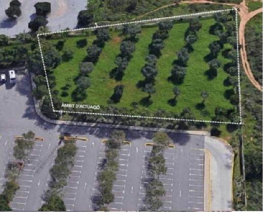 El solar donde se ubicará está al lado del aparcamiento del Recinto Ferial.