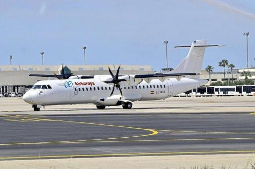 Imagen de un avión de Air Europa.