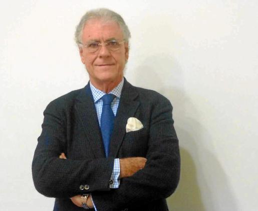 José Luis Zoreda, vicepresidente ejecutivo de Exceltur, minutos antes de la entrevista con Periódico de Ibiza y Formentera.