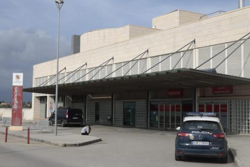 Imagen del acceso al hospital Son Llàtzer