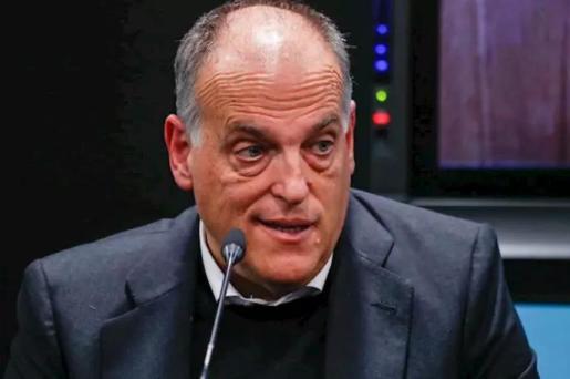 Javier Tebas, presidente de LaLiga - Oscar J. Barroso / AFP7 / Europa Press - Archivo