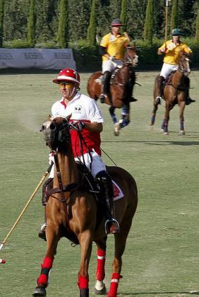 Alrededor de 450 invitados asistieron ayer a la final del torneo de polo organizado por Christian Völkers y posterior cena.
