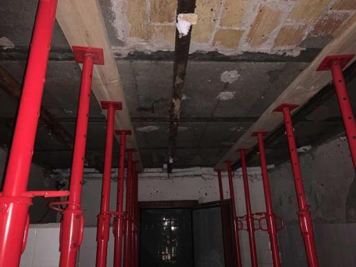 Obras en los apartamentos Don Pepe.