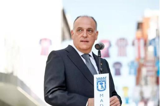 El presidente de LaLiga, Javier Tebas - Oscar J. Barroso / AFP7 / Europa Press