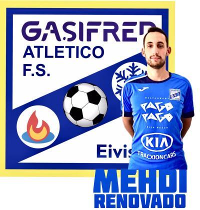 Mehdi, jugador del Gasifred.