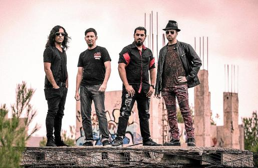 Imagen promocional del grupo ibicenco de rock alternativo Tales of Gloom.