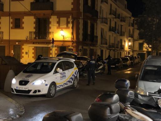 La Policía Local de Ibiza ha denunciado a seis conductores por alcoholemias penales tras sufrir accidentes