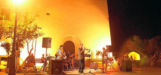 Concierto de Jazz en la plaza de Sant Francesc.