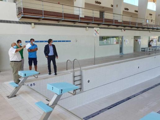 La piscina interior de es Raspallar abrirá el 1 de julio tras las reformas del complejo deportivo