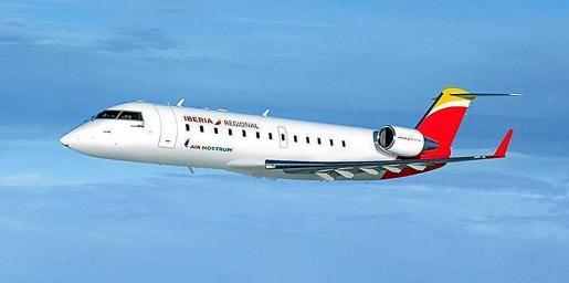 Imagen de archivo de un avión de la compañía Air Nostrum.