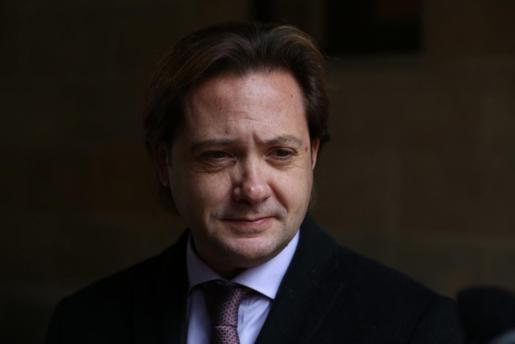 El diputado y portavoz de Vox en el Parlament balear, Jorge Campos.