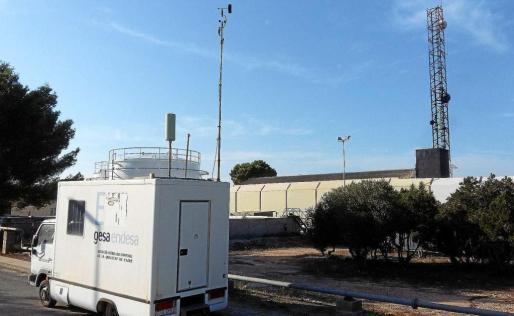 Imagen de la central de es Ca Marí, en Formentera.
