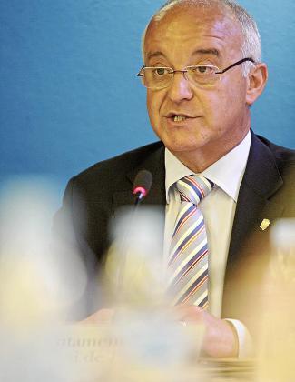 El senador y candidato a presidente del PP José Sala.