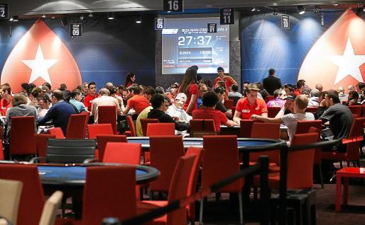 Imagen de archivo de la celebración de un torneo de póker en el Casino de Ibiza.