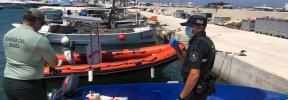 Positivo en coronavirus dos de los 17 inmigrantes llegados a Formentera