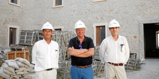 Arquitectos en el Parador de Ibiza.