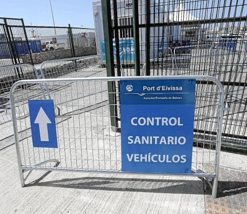 Ayer no hubo controles en las barcas de Formentera. Con el inicio de julio las competencias pasaron a manos del Gobierno central, finalizando así los controles sanitarios que hacía el Govern.