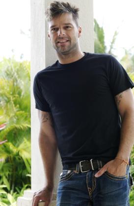 Fotografía de archivo del cantante puertorriqueño Ricky Martin.