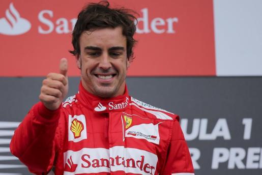 Fernando Alonso en una imagen de archivo.