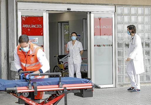 En la última semana ha habido una nueva hospitalización, algo que apenas está ocurriendo.
