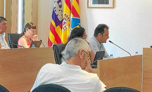 Imagen de archivo de Llorenç Córdoba en un pleno del Consell de Formentera.
