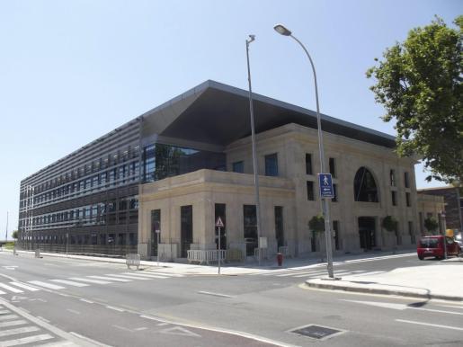 Vista de la sede de la sede de la Autoritat Portuària de Palma.