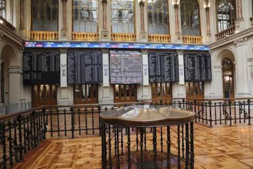 Imagen interior del Palacio de la Bolsa. En Madrid, (España), a 10 de julio de 2020. - Jesús Hellín - Europa Press