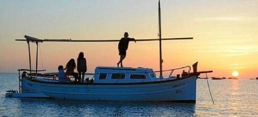 El llaüt 'Sa Barca de Formentera'.