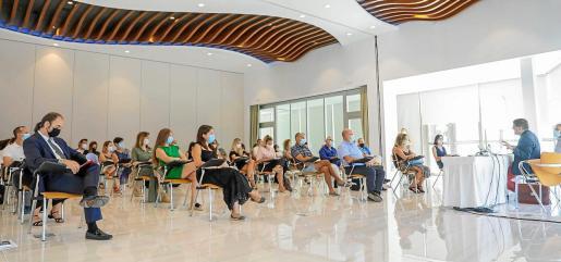 Imagen de la jornada inmobiliaria que organizaron ayer los API por segunda vez en Ibiza.