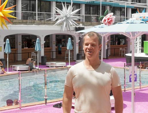 Andy Mckay, en el Ibiza Rocks Hotels, hace unas semanas.